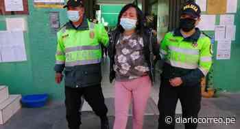 Mujer es detenida en Huancayo por golpear a su bebé de un año hasta dejarla grave (VIDEO) - Diario Correo