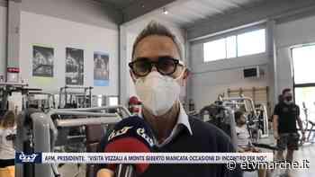 """Presidente Afm: """"A Monte Giberto mancata occasione di incontro con la Vezzali - eTv Marche: Notizie, Live e Trasmissioni - Redazione ETV Marche"""