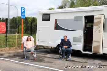 """Twee gloednieuwe camperplaatsen moeten extra toeristen aantrekken: """"Ideaal gelegen aan de rand van het park en - Het Nieuwsblad"""