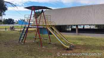 Brinquedo é instalado no Santa Rita do Trevo em Capivari - SeuJornal