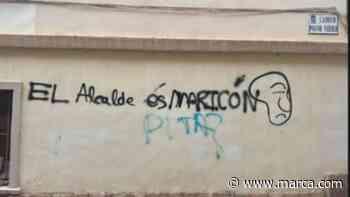 """El alcalde es maricón"", la pintada homófoba de l'Alcora y el troleo del alcalde que ya es - MARCA.com"