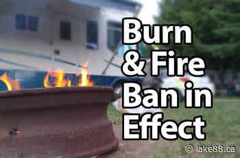 Fire ban in Lanark Highlands and Mississippi Mills - lake88.ca