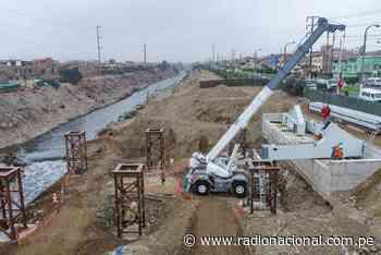 Inician montaje de estructura metálica en puente Morales Duárez - Radio Nacional del Perú