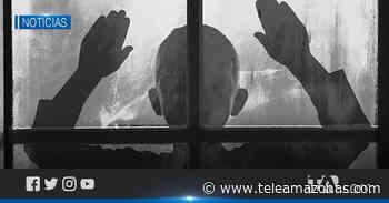 ¡No, no, no te vayas, no!, grita un niño abandonado en la frontera - Teleamazonas