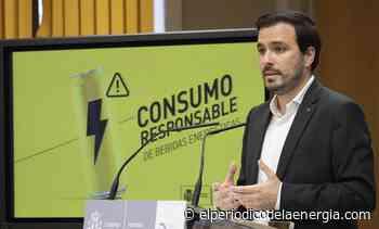 Garzón insta a las eléctricas a acabar con «los beneficios caídos del cielo» a las eléctricas - El Periodico de la Energía