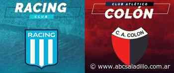 Racing y Colon protagonizaran la final de la Liga Profesional - ABC Saladillo