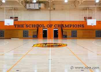 Warriors, McClymonds High School Unveil Oakland Forever-Themed Basketball Court