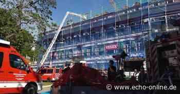 Dachstuhlbrand in Seeheim-Jugenheim - Echo Online