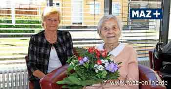 Nauen: Ilse Wiznerowicz ist 100 Jahre alt - Märkische Allgemeine Zeitung