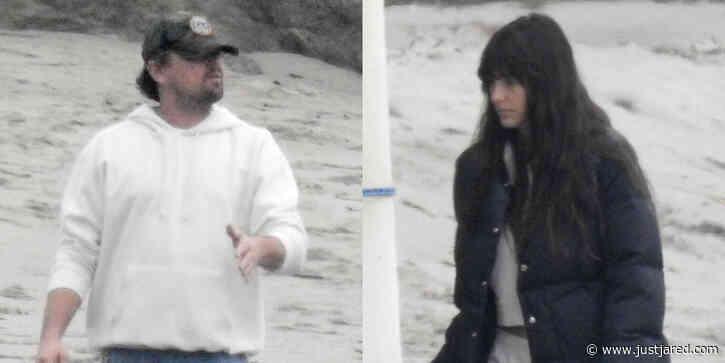 Leonardo DiCaprio Spent Memorial Day at the Beach with Girlfriend Camila Morrone & His Family