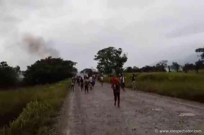 Denuncian agresiones de policías contra manifestantes en Villagarzón, Putumayo - El Espectador