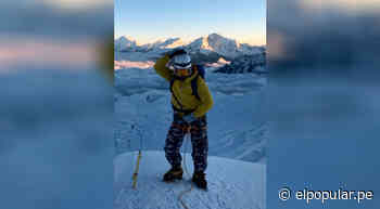 Fotógrafo baila el popular tema 'No sé' al llegar a la cumbre de la montaña Vallunaraju [VIDEO] - ElPopular.pe