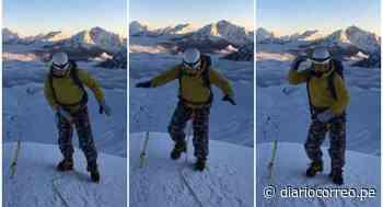 Joven celebra que llegó a la cumbre de la montaña Vallunaraju bailando 'No sé' de Explosión (VIDEO) - Diario Correo