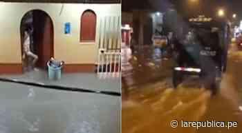 Iquitos: lluvia de casi cuatro horas inunda calles y viviendas de Punchana - LaRepública.pe
