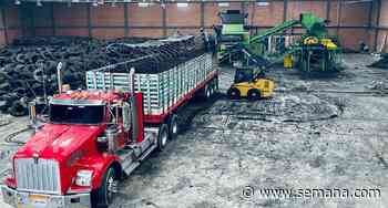 Inauguran planta de gestión y procesamiento de llantas usadas en Mosquera, Cundinamarca - Semana