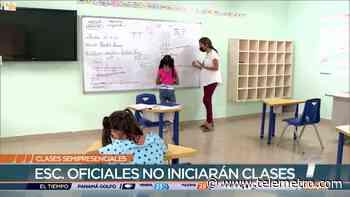 Ninguna escuela oficial de San Miguelito iniciará clases semipresenciales - Telemetro