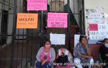 Extrabajadores de Tepalcingo toman el Ayuntamiento - El Sol de Cuautla