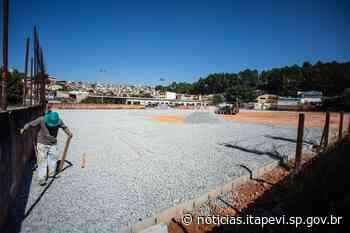 Itapevi avança na construção da Arena Santa Rita - Agência Itapevi