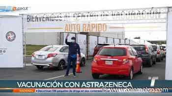 Aplican más de 3,500 dosis de vacunas de AstraZeneca en Coclé - Telemetro