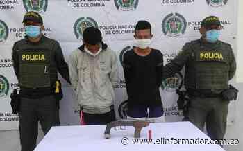 Detienen a dos con un arma sin papeles en Sitionuevo, Magdalena - El Informador - Santa Marta