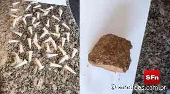Polícia apreende mais de 40 pinos de cocaína em Miracema - SF Notícias