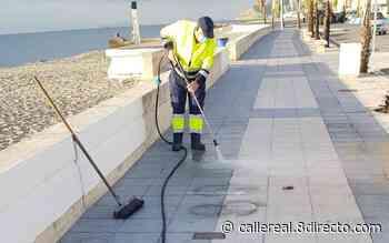 Campaña de choque en Atunara y San Bernardo para eliminar las pintadas de los actos vandálicos - La Calle Real