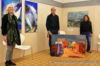 Kunst im Kreisimpfzentrum kommt gut an - Kenzingen - Badische Zeitung