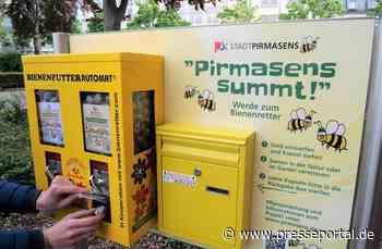 Blumensamen aus dem Kaugummi-Automaten - Pirmasens startet eine neue Form der Bürgerbeteiligung beim... - Presseportal.de
