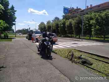 Schianto tra scooter e bici, paura a Nova Milanese - Prima Monza