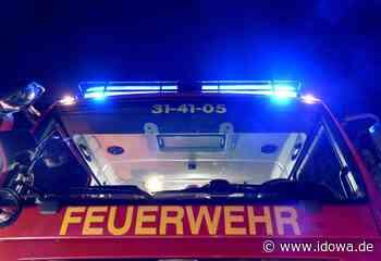Feuerwehreinsatz - Eine Verletzte bei Zimmerbrand in Mallersdorf-Pfaffenberg - idowa