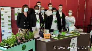 Beuvry: avec leur jardin connecté, les lycéens de Yourcenar remportent le premier prix au Touquet - La Voix du Nord