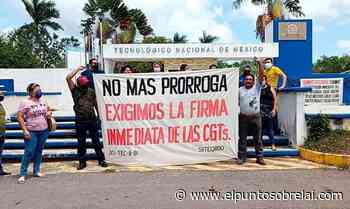 Respalda sindicato magisterial peticiones de trabajadores de Tecnológico de Felipe Carrillo Puerto - Elpuntosobrelai.com