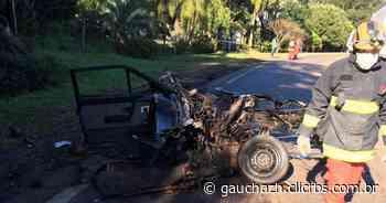 Homem morre em acidente na ERS-324, entre Marau e Vila Maria, neste domingo - GauchaZH