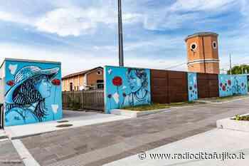 A San Giovanni in Persiceto un murale della street artist Alicè per le donne della Resistenza - Radio Città Fujiko
