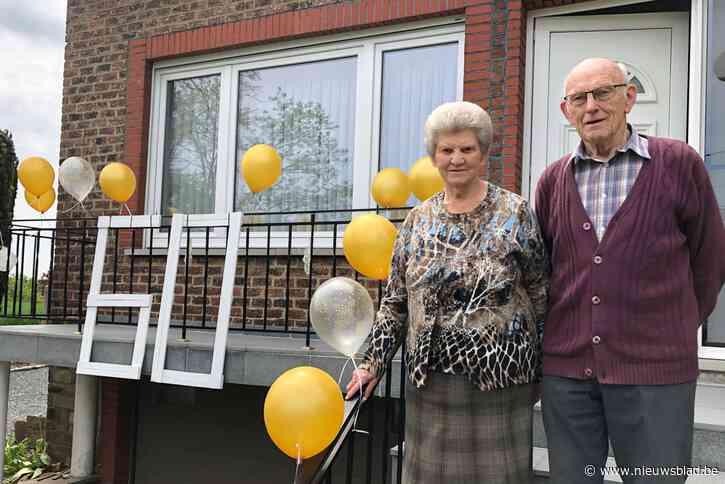 """Lucien (83) en Lydie (83) zijn zestig jaar getrouwd: """"Water bij de wijn doen, is ons geheim"""""""