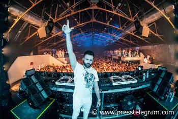 DJ Gareth Emery returns to Anaheim's Drive-In OC with full-scale 'Laserface' laser show - Long Beach Press Telegram