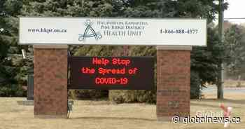 COVID-19: 16 new cases in City of Kawartha Lakes, 5 in Northumberland; HKPR active cases fall to 116 - Global News
