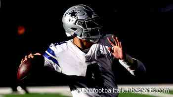 Mike McCarthy: Great to see progress Dak Prescott has made on the field