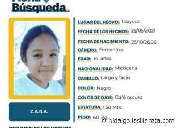 Desaparece niña de 14 años en Tizayuca; su familia pide ayuda para localizarla - La Silla Rota