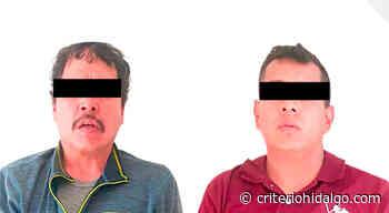 Detienen a dos por robo de camioneta en Tizayuca - Criterio Hidalgo