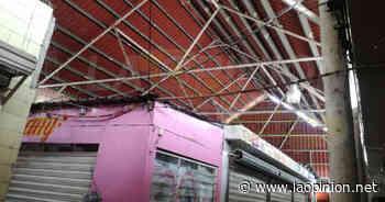 Obsoleta la red eléctrica en el mercado municipal de Cerro Azul - La Opinión