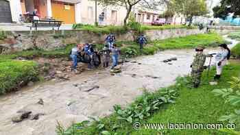 Limpieza al río Pamplonita: extrajeron 600 kilos de basura | Noticias de Norte de Santander, Colombia y el mundo - La Opinión Cúcuta