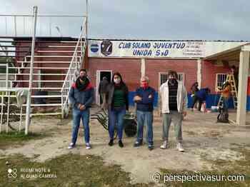Satisfacción por el avance de las obras en el Club Solano Juventud Unida - Perspectiva Sur