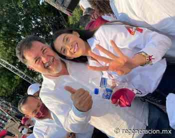 Fernández Noroña pide apoyar a Juncal Solano - Regeneracion
