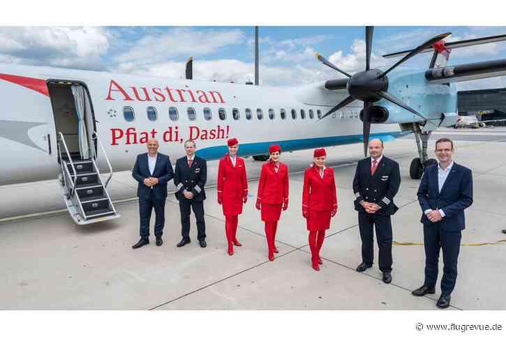 """""""Pfiat di, Dash!"""": Die letzte Dash 8 verlässt die Austrian-Flotte - FLUG REVUE"""