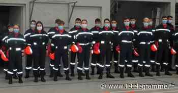 Reprise de la formation de jeunes sapeurs-pompiers à Plabennec - Le Télégramme
