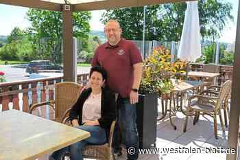 Familie Stranghöner vom Hotel und Restaurant Freihof in Hiddenhausen hat die coronabedingte Schließung gut überstanden: Endlich wieder Restaurant-G... - OWL - Westfalen-Blatt