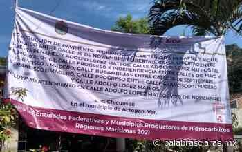 Exhiben apapacho de la SIOP a candidata de Morena en Actopan | PalabrasClaras.mx - PalabrasClaras.mx