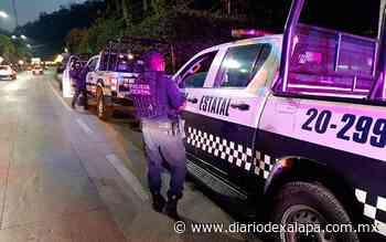 Atacan a policías en Actopan; uno resultó herido - Diario de Xalapa
