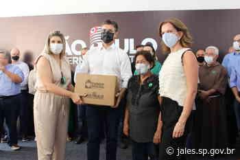Fundo Social de Jales recebeu 520 cestas básicas do Governo do Estado para entregar às famílias em vulnerabilidade social – Jales - Saúde – Prefeitura Municipal de Jales